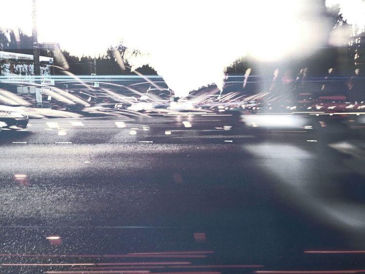 City Illuminated Sky High Street Pixelated Traffic Light Painting The Creative - 2018 EyeEm Awards