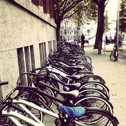 Holland Bicycle country.. Bikes Studenthotel Rotterdam Vanmoof Holland
