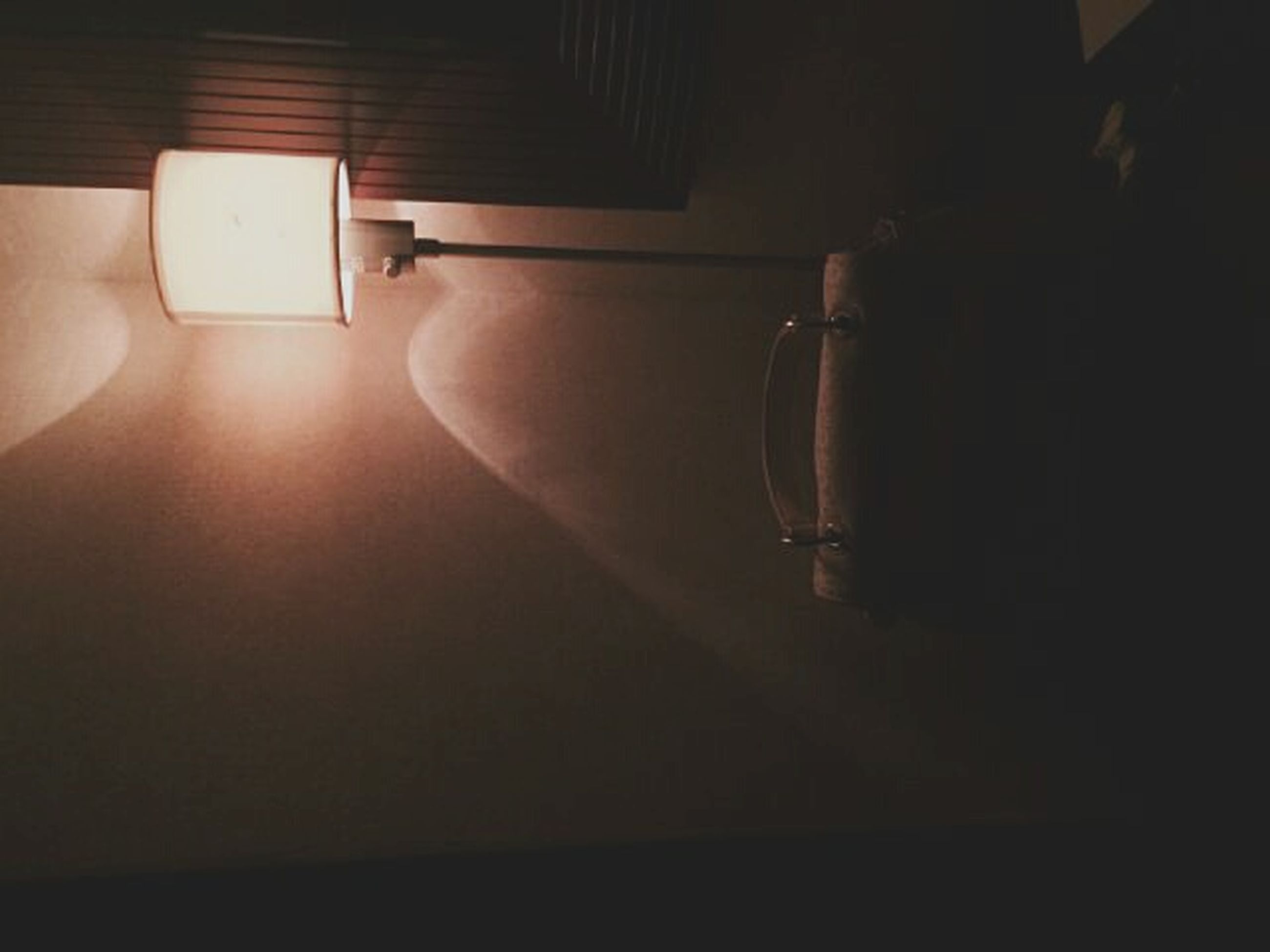 indoors, illuminated, lighting equipment, wall - building feature, electricity, home interior, absence, electric lamp, empty, light - natural phenomenon, electric light, lamp, room, no people, dark, domestic room, wall, darkroom, architecture, ceiling