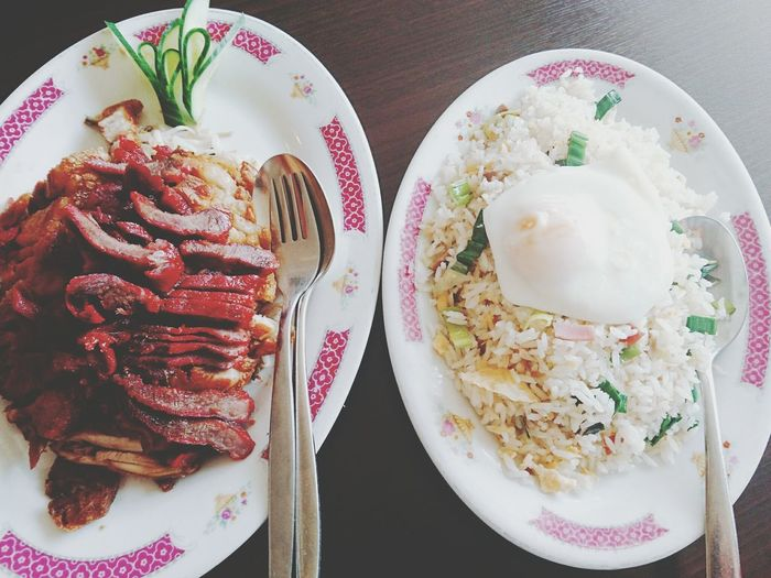 Ests noche Chinese Food Tsa Sieuw with Babi Pangang