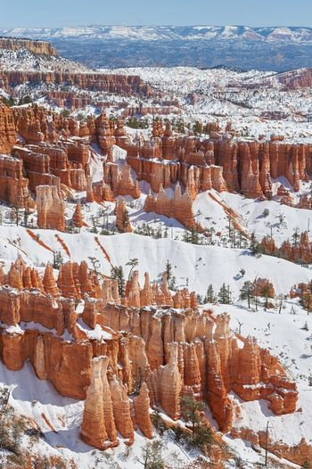 Bryce Canyon NP, USA - shared with pixbuf.com Bryce Canyon Canyon Landscape Travel Winter