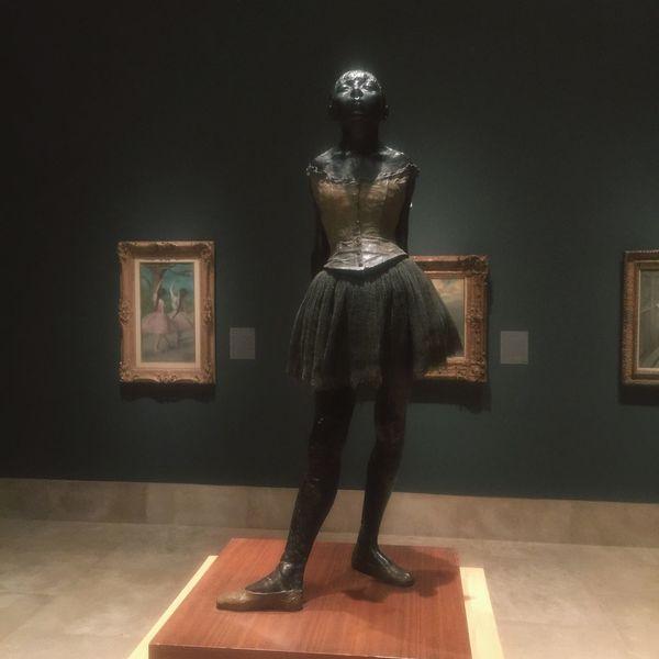 Exhibition Edgar Degas Ballerina Art