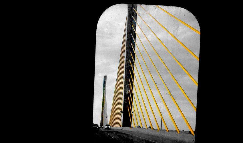 -•| NΣΨ GΓΘUND |•- Exploring New Ground Portrait Of America IPhoneography Colorsplash Yellow Streetphotography OpenEdit Open Edit Ocean City Bridge