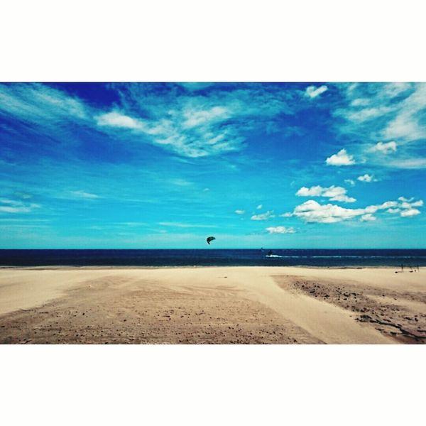 Kytesurf Sunny Afternoon Beachphotography
