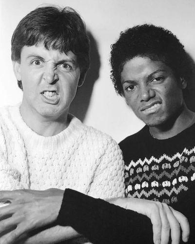 PAUL MCCARTNEY & MICHAEL JACKSON 1980