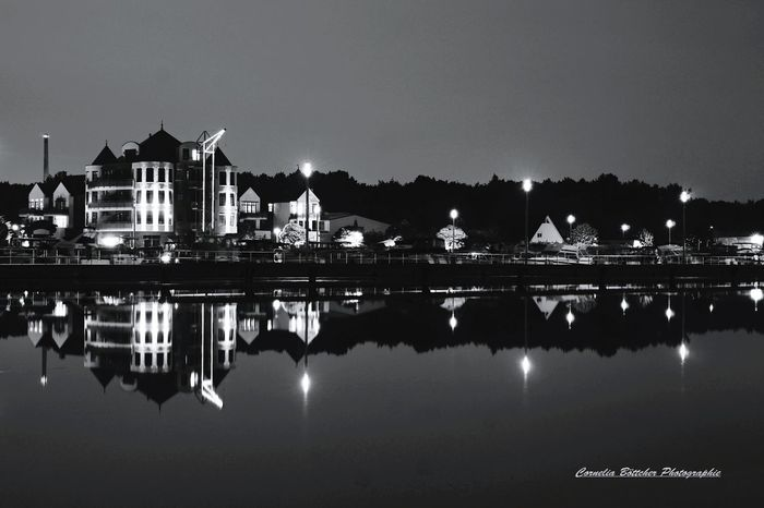 Rünthe Hafen Reflection Night Water Sky Clear Sky Outdoors Architecture Building Exterior No People Politics And Government Freshness Landscape_photography Langzeitbelichtung✔ Langzeitaufnahme Longtimelightning No People, Close-up Outdoor Pictures Outdoor Bnw_shot Bnwphotography Monochrome Monochrome Photography Sea Life Day