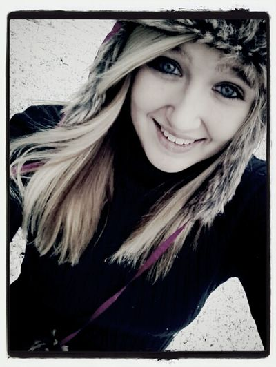 Playing in the snow :3