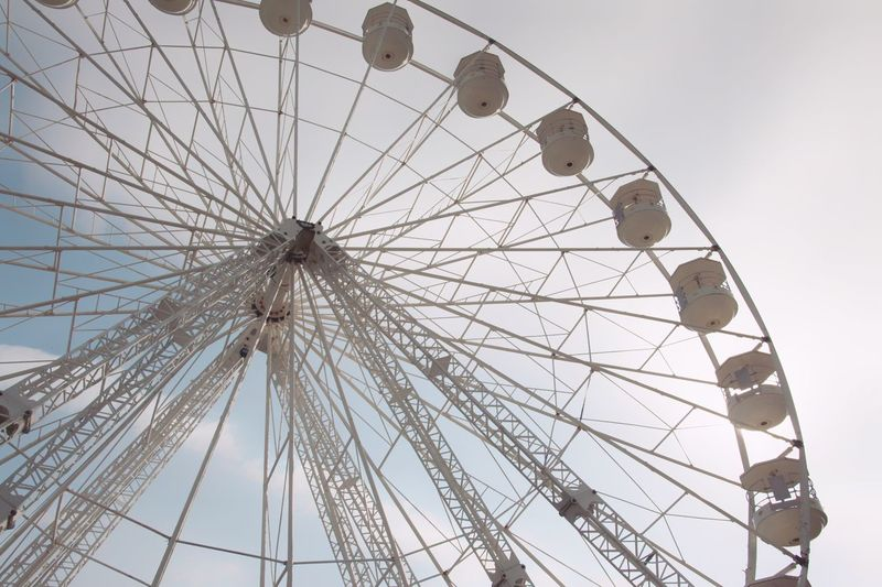 Ferris Wheel. Amusement Park Ferris Wheel Arts Culture And Entertainment Amusement Park Ride Traveling Carnival Leisure Activity Sky