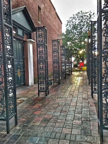 Iron Ornamented Walkway. Walkways  Ironwork  Huntsvillealabama