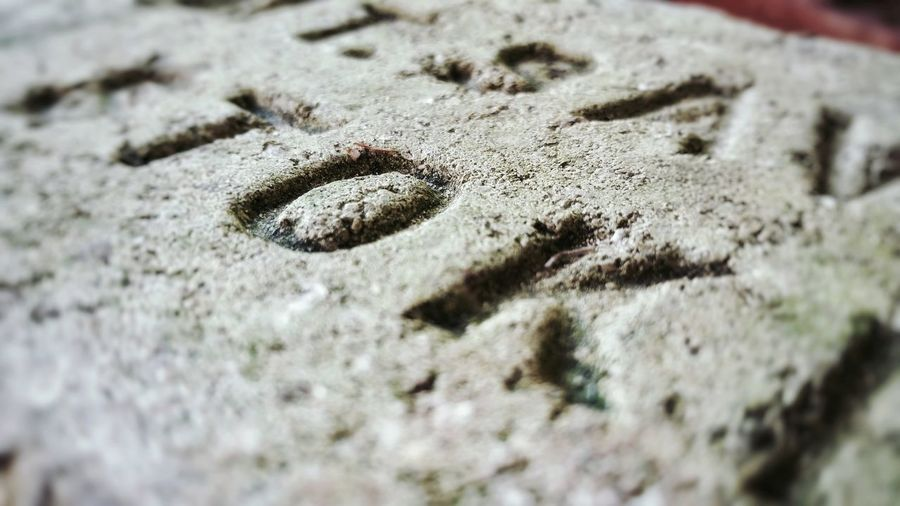 Mt. Savage Stoker Local History Brick Imprint Macro Close-up Texture Textures And Surfaces Stone Material Extreme Close Up Maryland USA Western Maryland Selective Focus No People Object Vintage Objects The Premium Collection