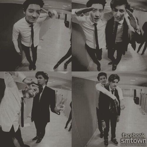 EXO's twin towers ☆ EXO Chanyeol Kris