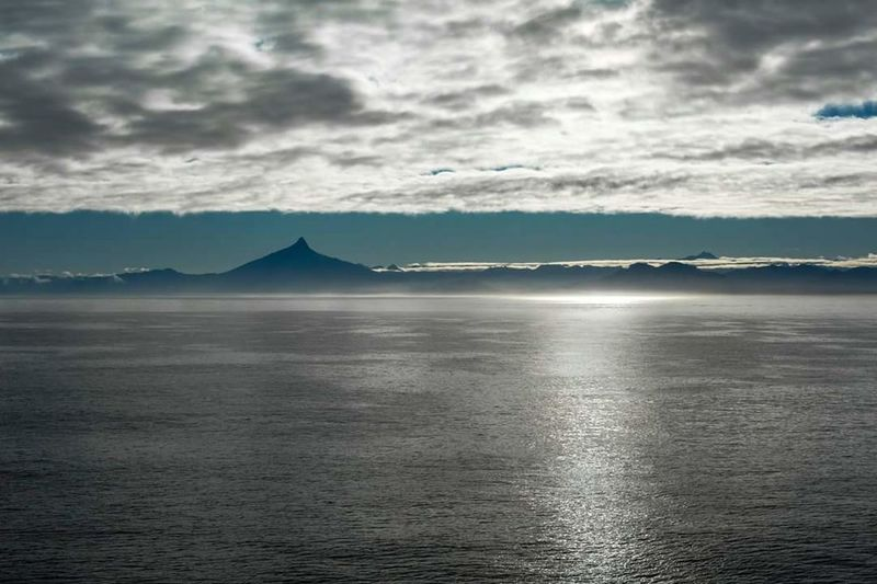 Water Tranquil Scene Sea Beauty In Nature Nature Seascape Chile Patagonia Calm EyeEm Blue Hour Golden Hour Eyem Best Shots
