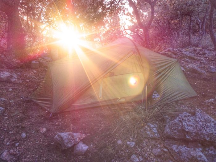 Tent in backlight Tent Tents Travel Travel Photography No People SPAIN Mallorca Travel Destinations Gr221 Tramuntana Serra De Tramuntana Trekking Traveling Hiking Hikingadventures Outdoor Photography Outdoor Outdoors Backlight Sunset Sun Sunset_collection Camping Sunrays The Great Outdoors With Adobe