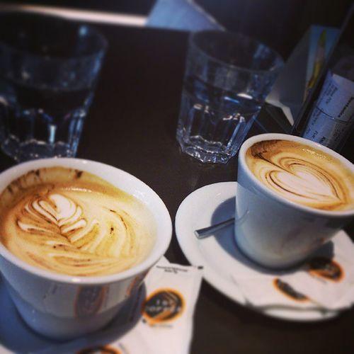 Coffee Time Lateart Heart