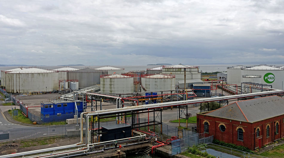 Outdoors Built Structure Building Exterior Cardiff Bay Oil Terminal Industry Victoria docks Victoria Docks Shipping Docks Cruise Ships