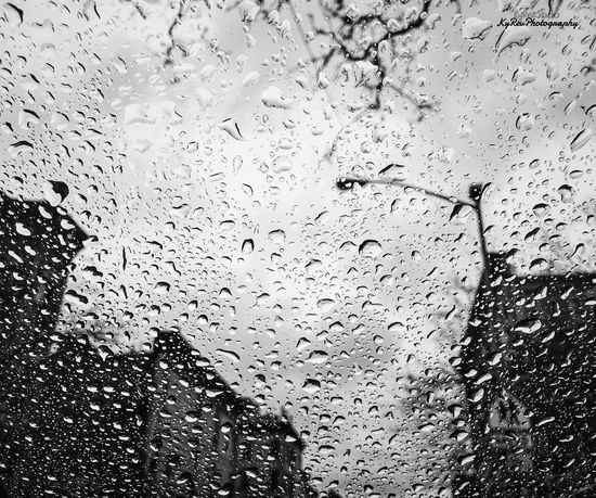 Have No Fear of Falling. VSCO Cam Photo By Me Photography Shot On IPhone 6s Eye4photography  Join Our Revolution Join The Revolution New York VSCO KyRevPhotography Wonderful Black And White Rain Water Rain On The Window Rain Drops Rainy Days Brooklyn Editedbyme Awesome Working