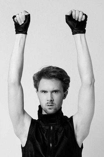 Lifestyles Front View Waist Up Leisure Activity Casual Clothing Young Adult Person Studio Shot White Background Handsome Styling Mensfashion Menstyle Man Long Legs Fashion&love&beauty Gayboys Friendship Young Model Taking Photos Enjoying Life Fantastic Exhibition Hello World Great Opening Mens
