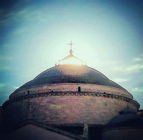 sole di dio Outdoors Napoli Naples Monuments Monumenti Essere Napoletano è Meraviglioso Sole Sun Chiesa Church