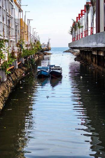 Canal Sewage Borneo Balikpapan