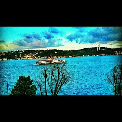 Emirgan Türkiye Turkey Boğaz istanbul deniz sea manzara sahil vapur instalike instacollage follow me doga