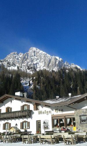 Ski Skiing Snow Ces San Martino Di Castrozza Malga Sunny Malga Ces