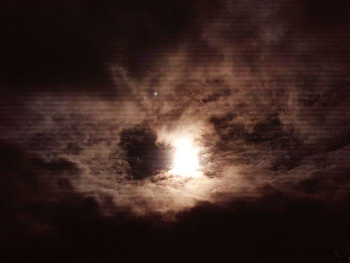 When sun hides behind clouds... Darksunset Darksky Diminished Sun