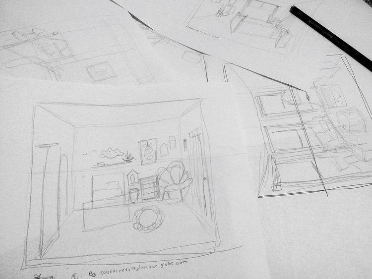 tugas mulai tumpeh tumpeh Desain Interior Design Interior Interiordesign Fineart