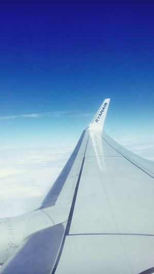 Airplane From An Airplane Window Holyday Clouds And Sky Sky Sky_collection Just White Clear Blue Sky