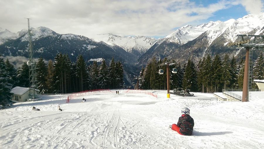 Scenic View Of Ski Resort
