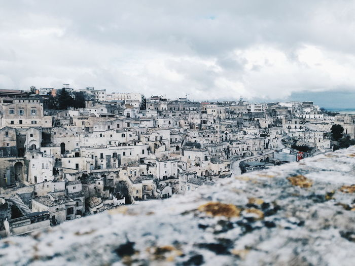 Matera City Sky Stories From The City