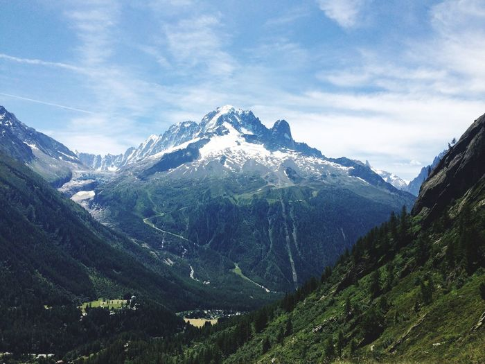 Hiking Chamonix-Mont-Blanc Summertime France The Great Outdoors With Adobe