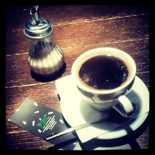 Вечерний кофе в рисе ! ))