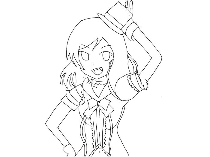 Drawing Nishikino Maki lol, Not Bad, Will Colours it Laterz. OtakuAnime AnimeDaisukiForLife My Drawing Drawing Ibispaint Anime
