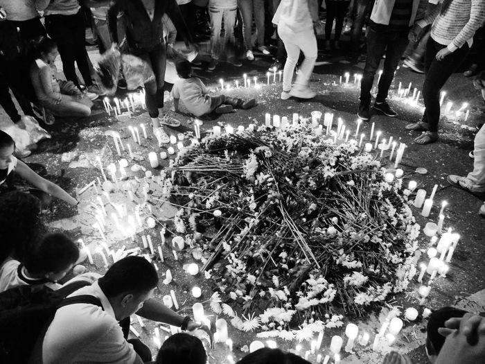Chapecoense Chapecó Flowers Ofrenda De Flores Sadness Solidarity
