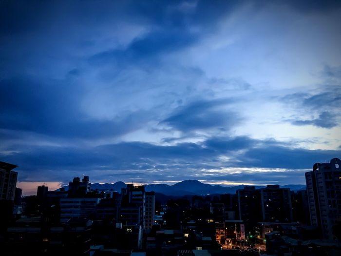 Taipei at dawn