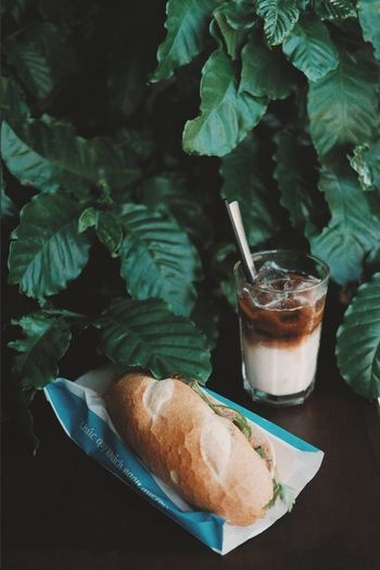 Banh mi and cafe