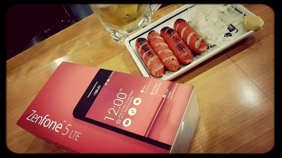 赤赤赤♡ Asuszenfone5 Red