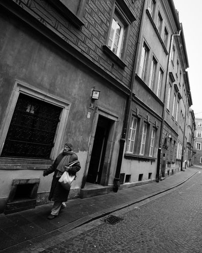 Warszawa  Warsaw One Man Only Building Exterior Only Men Full Length One Person Adults Only Architecture Street
