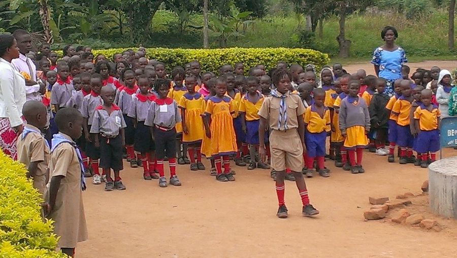School Uniforms Around The World Gulu Uganda  Examination Day July 2014