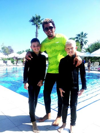 Hello World Side Antalya♥ Funny Enjoying Life SCUBA Diving Go That's Me Taking Photos With Kids Underwater Work Happy Happy Kids Teaching Scuba Diving ben+fabian!