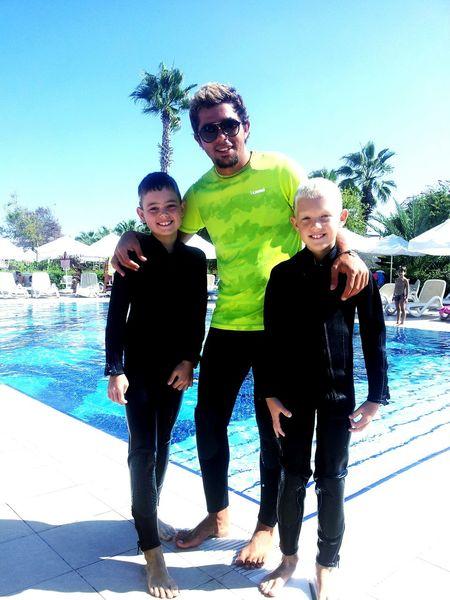 Hello World Side Antalya♥ Funny Enjoying Life SCUBA Diving Go That's Me Taking Photos With Kids Underwater Work Happy Happy Kids Teaching Scuba Diving ben+fabian!