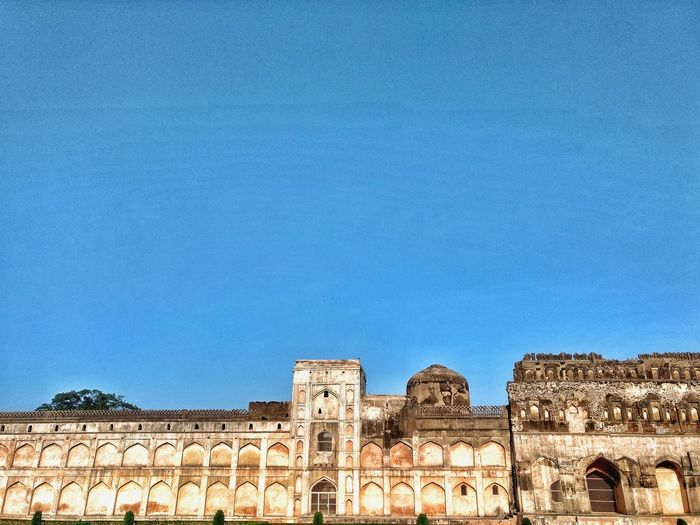 Historical fort! Bidar Karnataka Fortress Blue Sky Sky Travel Indian Culture  Afternoon Architecture EyeEmNewHere