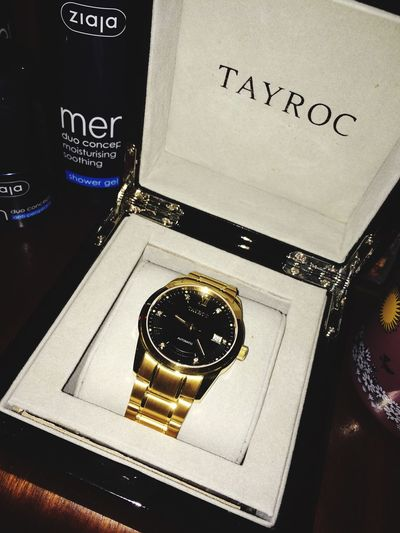 Dem my new tayroc Watch Love Gold Tayroc