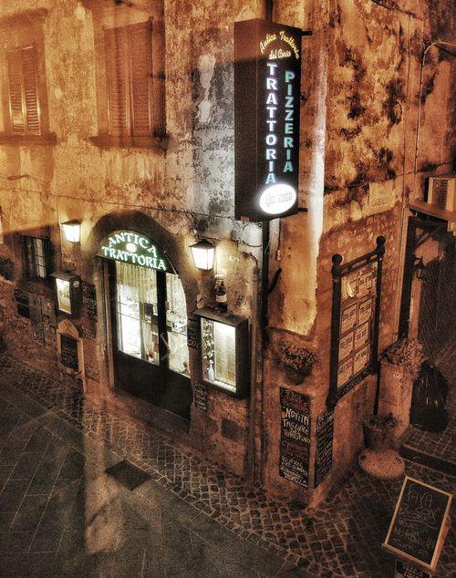 """""""Cibo Antica"""" - Bolsena, Italia Bolsena Cibo Photobydperry No People Outdoors Night Food Restaraunt Italy Italia"""