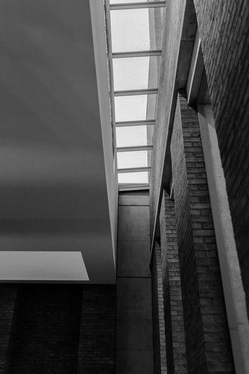 Skylight. Belfast Macinternational Museum Black&white