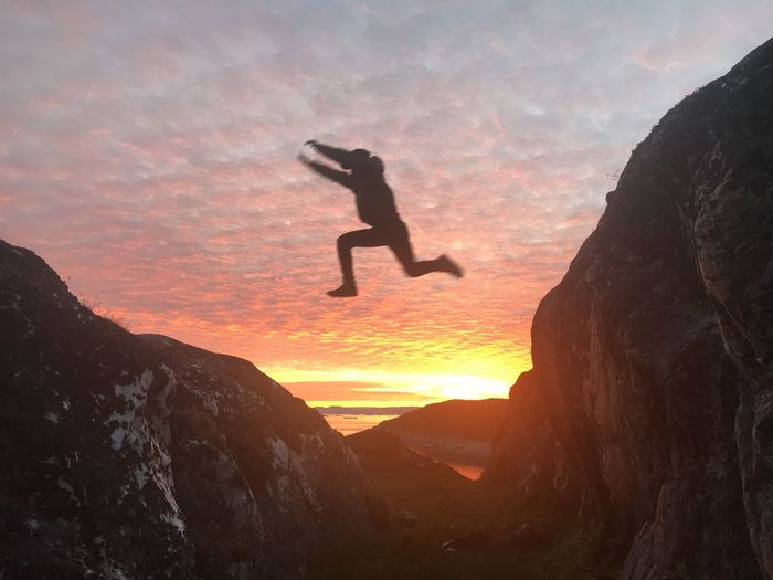 The midnight sun have passed. The fun begins😀 Nature Photography Nature_collection Nature EyeEm Best Shots - Sunsets + Sunrise EyeEm Best Shots - Nature EyeEm Best Shots Sunset Sunset_collection Sunset #sun #clouds #skylovers #sky #nature #beautifulinnature #naturalbeauty #photography #landscape Jumping Jump Ilulissat Ilulissat Icefjord This Is Greenland The Real Greenland Midnight Sun Sunset Real People Nature