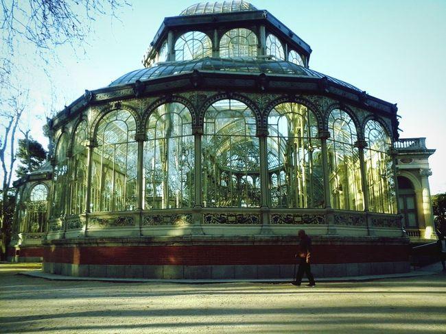Parque Del Retiro Madrid Spain Architecture Tranquil Scene Day EyeEmNewHere