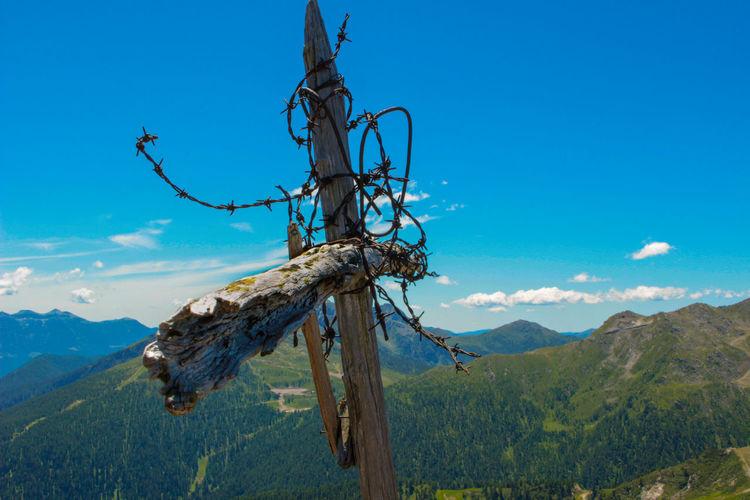 Cross on top of