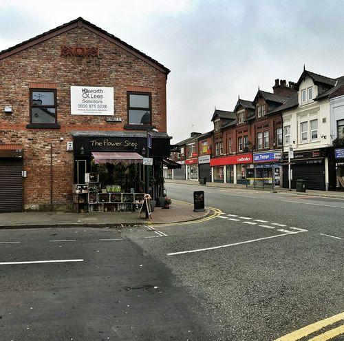 HYDE Manchester Flower Shop Street Corner