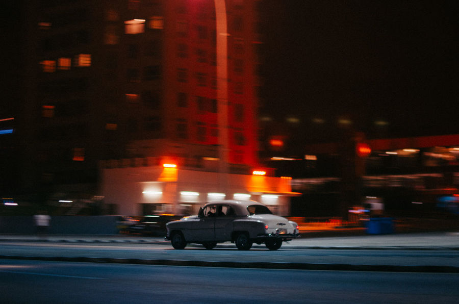 Malecon Blur Transportation Night Mode Of Transportation Street Illuminated City Land Vehicle Blurred Motion Motion Road Architecture Motor Vehicle Car Built Structure Building Exterior Outdoors Men Real People City Life EyeEm Best Shots EyeEm Selects Havana